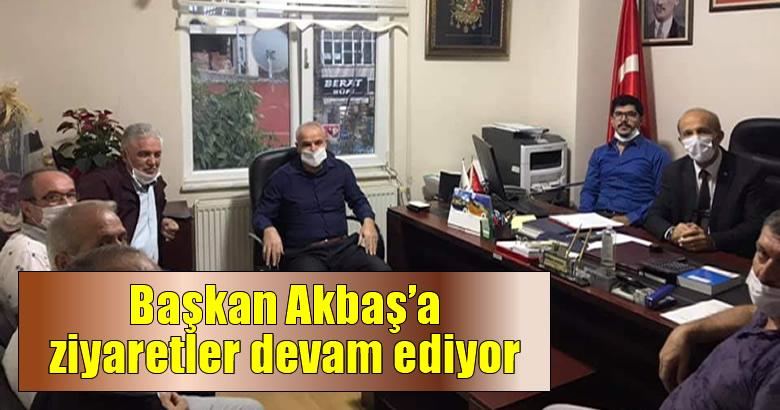 Ak Parti Arifiye İlçe Başkanı Akbaş'a ziyaretler devam ediyor