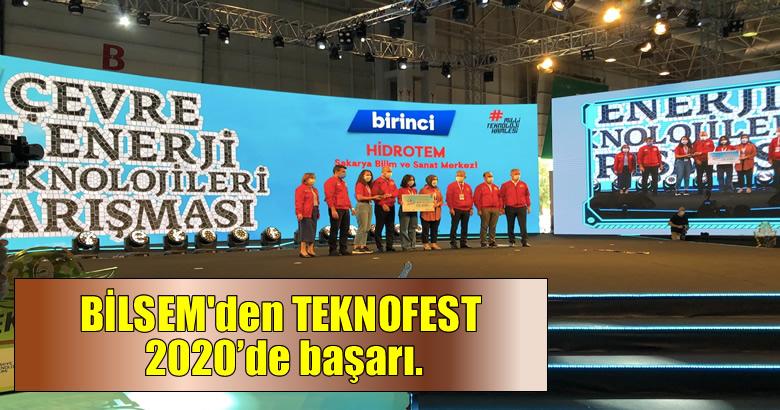 Sakarya BİLSEM, TEKNOFEST 2020'de Çevre Enerji Teknolojileri Yarışması'nda Türkiye Birincisi Oldu.