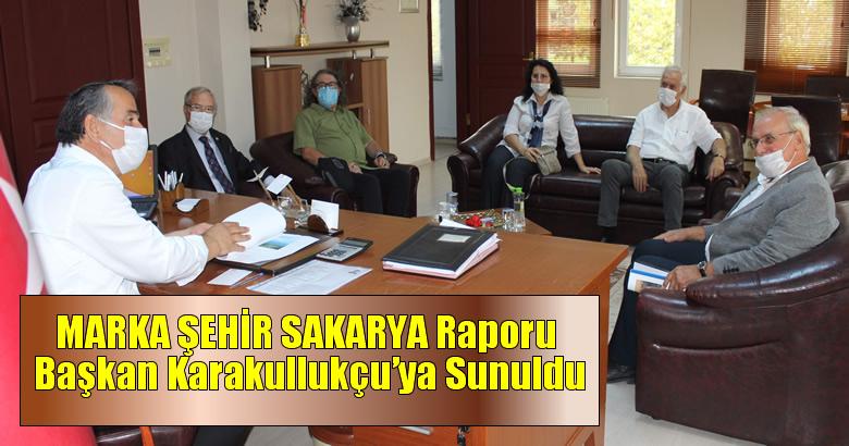 Sakarya Sivil Toplum Platformu üyeleri MARKA ŞEHİR SAKARYA Raporunu, Arifiye Belediye Başkanı İsmail KARAKULLUKÇU' ya Sundu…
