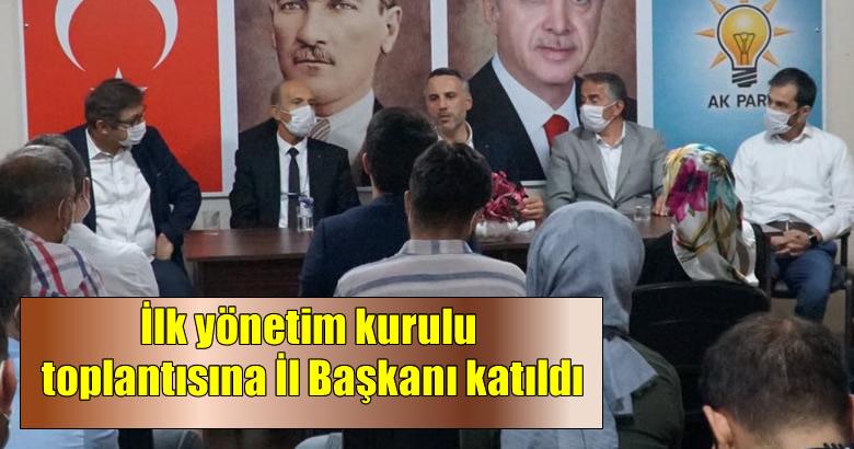 Ak Parti Arifiye ilçe kongresi sonrası yapılan ilk yönetim kurulu toplantısı gerçekleşti.