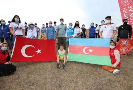 Sakarya'dan Azerbaycan'a manevi destek