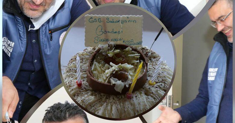 Sinan Kolcu'ya Sürpriz Doğum günü Kutlaması