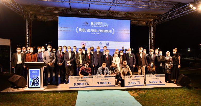 6. Uluslararası Sakarya Kısa Film Festivalinde Ödüller Verildi