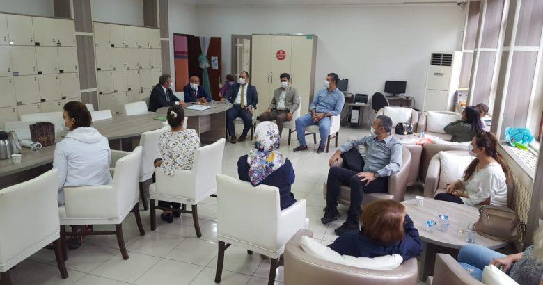 İl MEM Yöneticileri Okulların Sorunlarını Dinliyor.