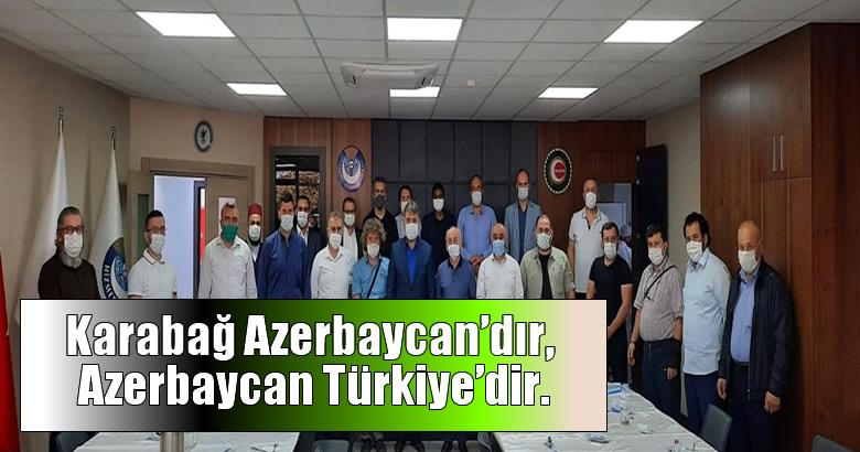 Milli İrade SİVİL Toplum Kuruluşlarından Azerbaycan İçin Basın Açıklaması