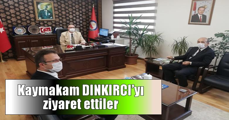 Ak Parti Arifiye İlçeYönetimi Kaymakam DINKIRCI'yı ziyaret etti.