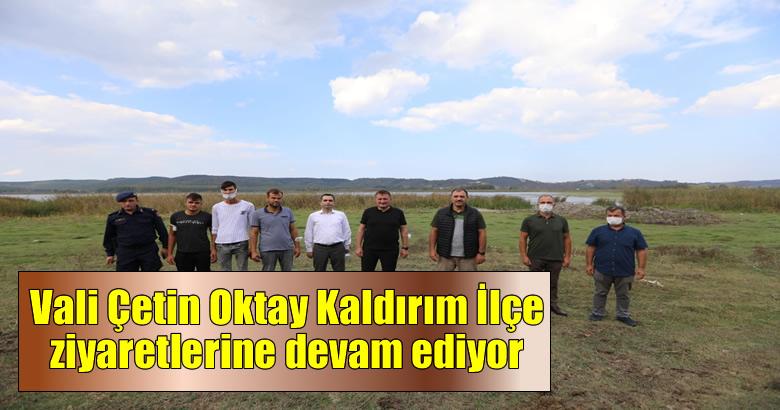 Vali Çetin Oktay Kaldırım'dan Ferizli Çıkarması