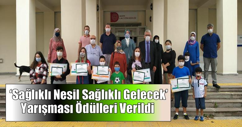 Yeşilay'ın 'Sağlıklı Nesil Sağlıklı Gelecek' Yarışması Ödülleri Verildi