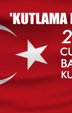 29 Ekim Cumhuriyet Bayramı Kutlama Mesajları…
