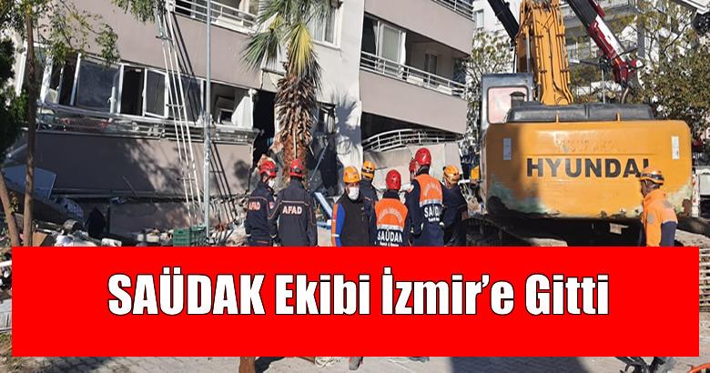 SAÜDAK Ekibi İzmir'e Gitti