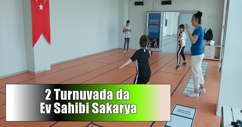 2 Turnuvada da Ev Sahibi Sakarya