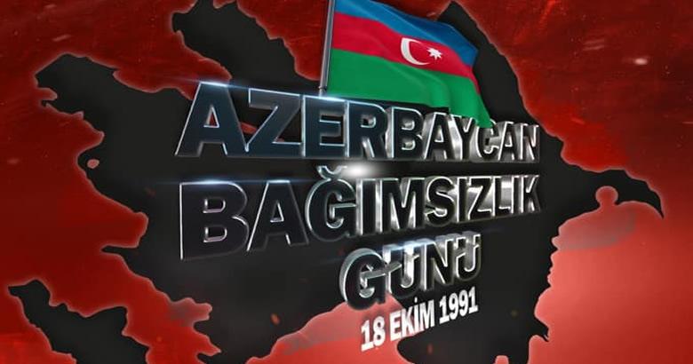 MSB'dan Azerbaycan Bağımsızlık Günü kutlaması