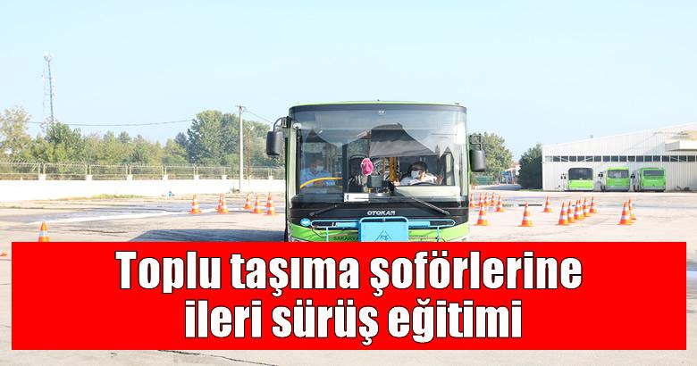 Toplu taşıma şoförlerine ileri sürüş eğitimi
