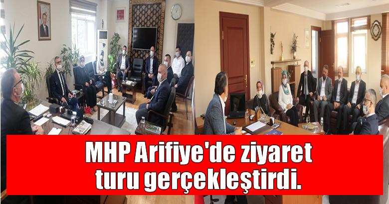 MHP Arifiye'de ziyaret turu gerçekleştirdi.
