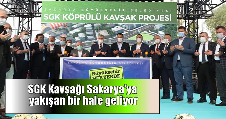 """""""SGK Köprülü Kavşak projesi hayırlı olsun"""""""