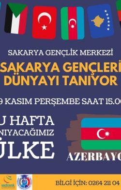 Gençlik Merkezinde Azerbaycan Konuşulacak