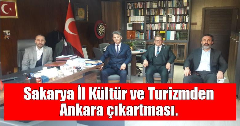 Sakarya İl Kültür ve Turizmden Ankara çıkartması.