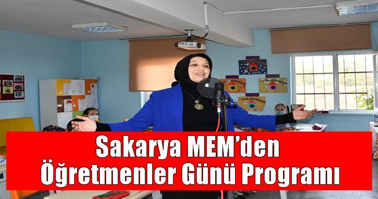 Sakarya MEM'den Öğretmenler Günü Programı