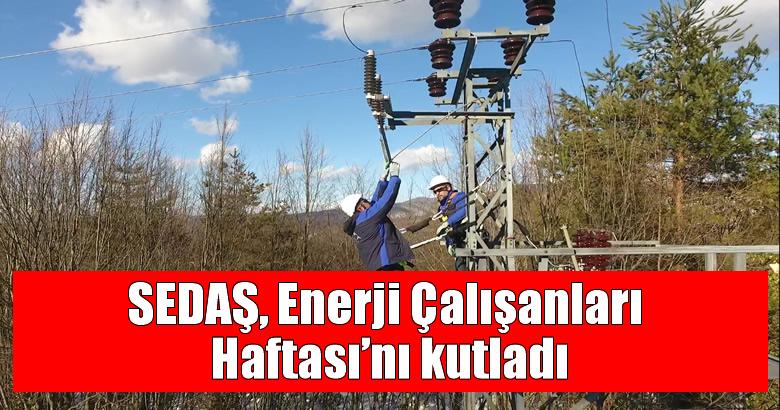 SEDAŞ, Enerji Çalışanları Haftası'nı kutladı