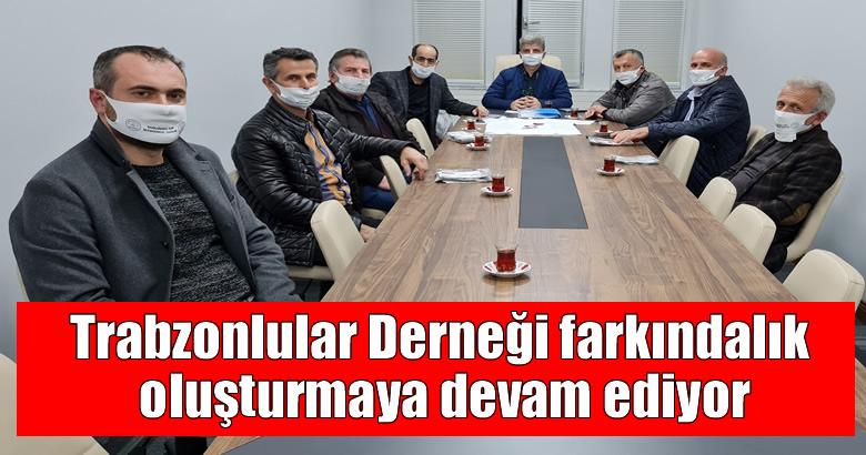 Trabzonlular Derneği farkındalık oluşturmaya devam ediyor
