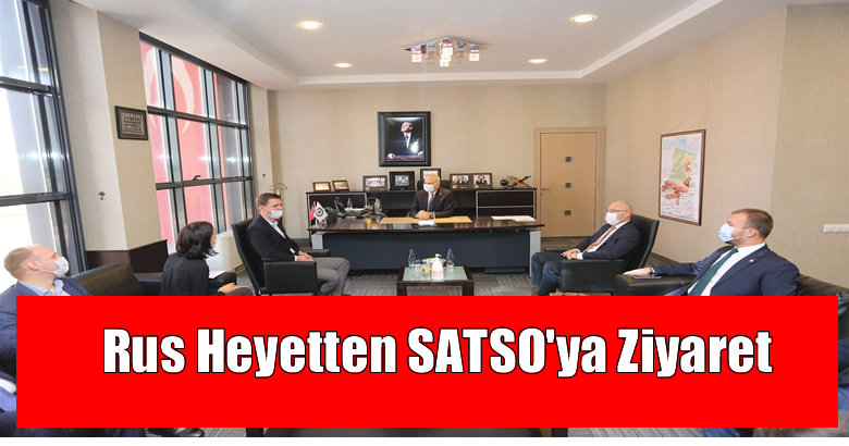Rus Heyetten SATSO'ya Ziyaret