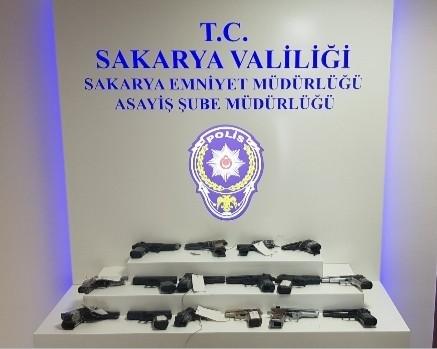Sakarya'da Ekim ayında  138 kişiye tutuklama