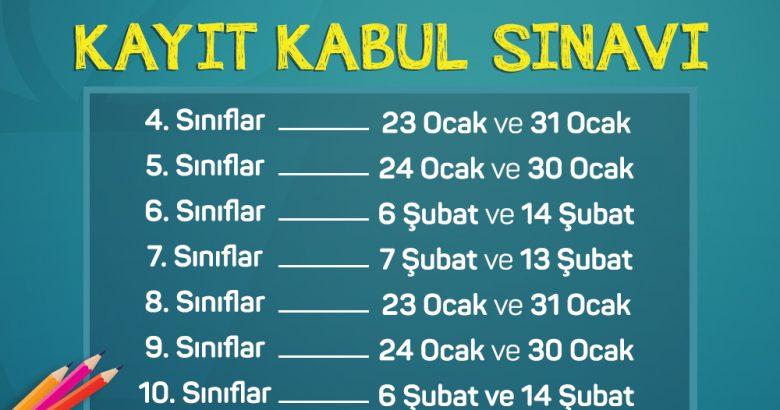 """""""Bilnet Okulları Kayıt Kabul Sınavları"""" 23 Ocak'ta Başlıyor!"""