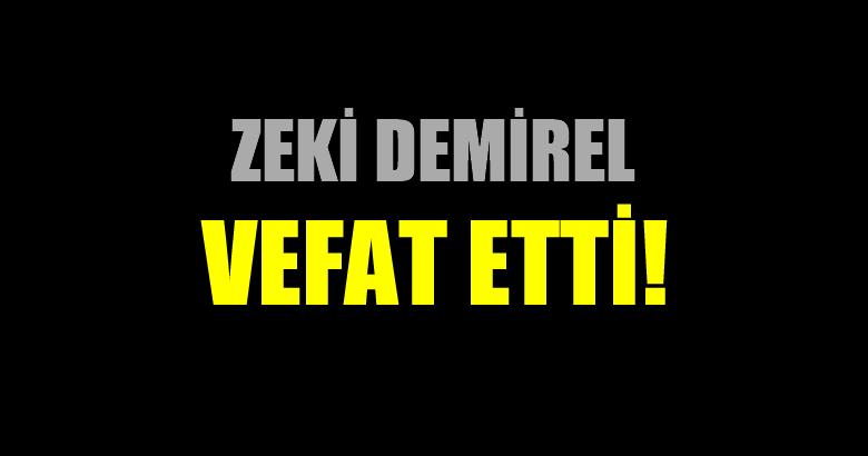 DEMİREL AİLESİNİN ACI GÜNÜ!..