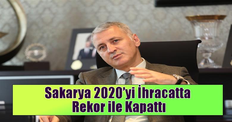 Sakarya 2020'yi İhracatta Rekor ile Kapattı