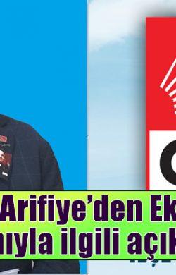CHP Arifiye'den Ekmek zammıyla ilgili açıklama