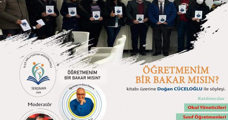 Doğan Cüceloğlu'nun ani ölümü Serdivanlı öğretmenleri çok üzdü.