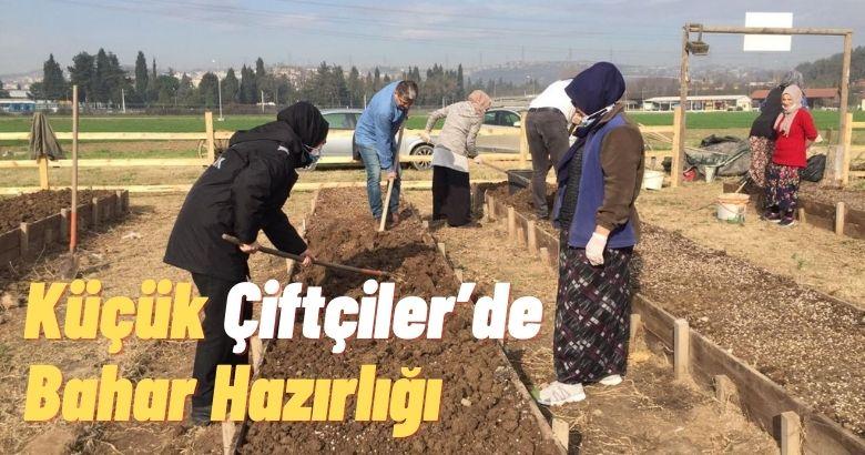 Küçük Çiftçiler'de Bahar Hazırlığı