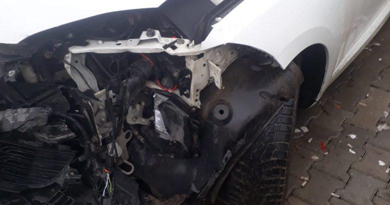 Kışlaçay Köyü Muhtarının Eşi Trafik Kazası Geçirdi.