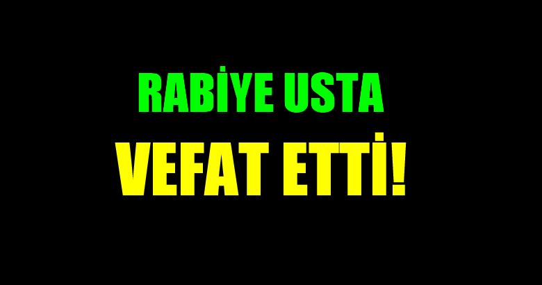 USTA AİLESİNİN ACI GÜNÜ!..