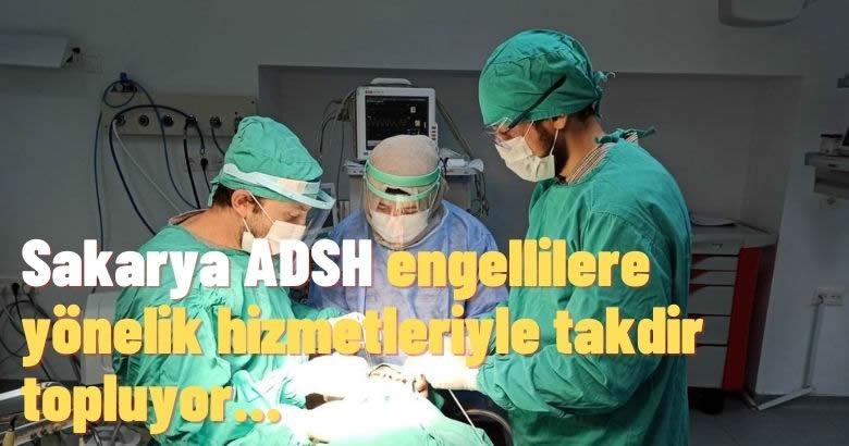 Sakarya ADSH engellilere yönelik hizmetleriyle takdir topluyor