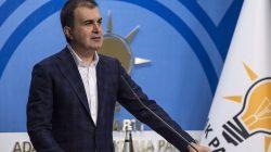 Ömer Çelik, ABD Başkanı Biden'ın yaptığı açıklamayı kınadı