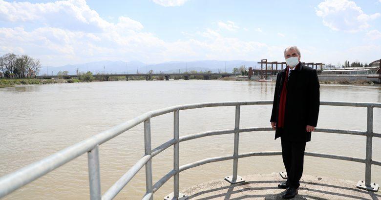 ADASU HES'in önündeki gölet temizleniyor