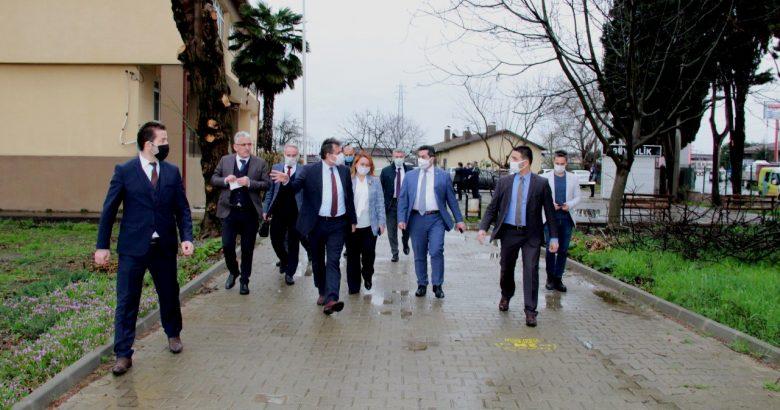 MEB Daire Başkanı, Üretim Yapan Meslek Liselerini Ziyaret Etti.