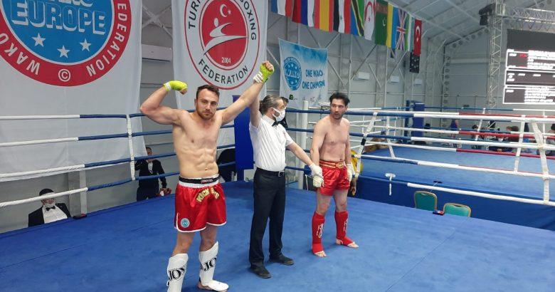 Türkiye Açık Kick Boks Avrupa Kupası  tamamlandı.
