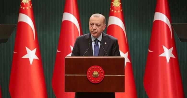 """Cumhurbaşkanı Erdoğan:""""Kısmi kapanma uygulamasına geçiyoruz"""""""