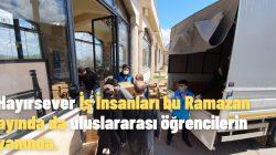 Hayırsever İş İnsanları bu Ramazan ayında da  uluslararası öğrencilerin yanında.