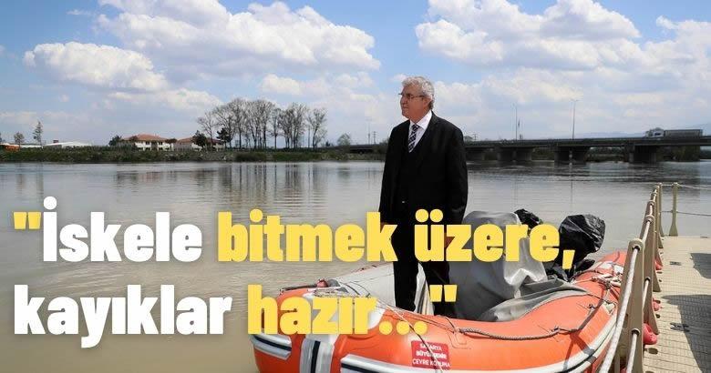 """""""Sakarya Nehri kıyıları sosyal yaşamın yeni alternatifi olacak"""""""