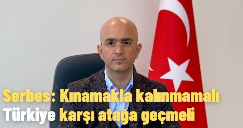 Serbes: Kınamakla kalınmamalı Türkiye karşı atağa geçmeli