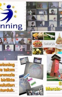 E-Twinning Günü'nü online olarak kutladılar