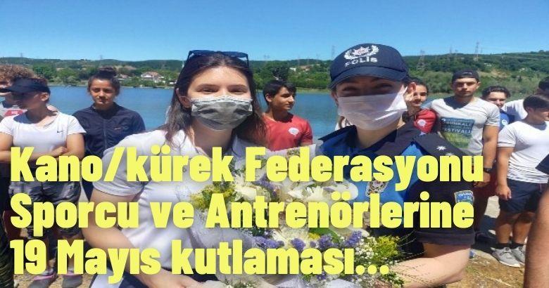 Türkiye Kano/kürek Federasyonu Sporcu ve Antrenörlerini ziyaret ederek bayramlarını kutladılar.