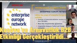 Kosova ve Arnavutluk B2B Etkinliği Gerçekleştirildi