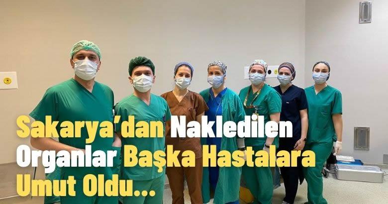 Özel Medar Hastanesi Sakarya'dan Nakledilen Organlar Başka Hastalara Umut Oldu