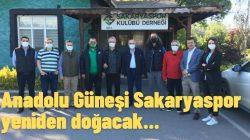 Anadolu Güneşi Sakaryaspor yeniden doğacak
