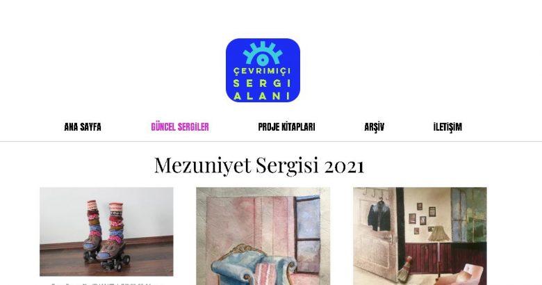 """SAÜ STMF Resim Bölümü """"Mezuniyet Sergisi '21"""" Yayında"""