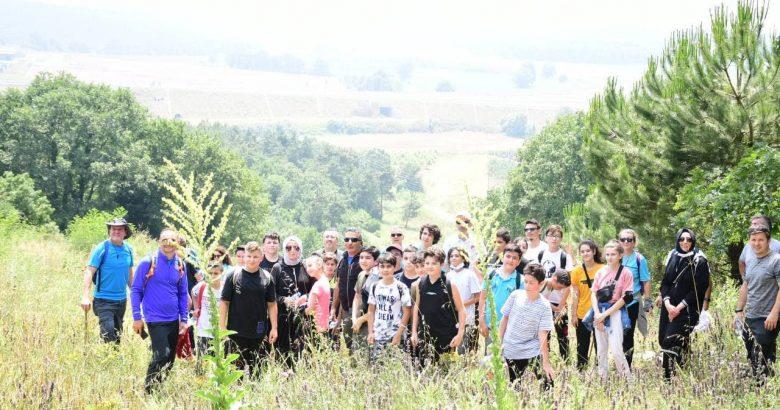 Öğrencilerle Doğa Yürüyüşü Etkinliği